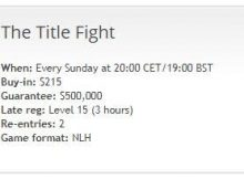 PartyPoker Title Fight