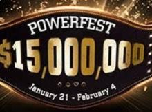 2018 partypoker powerfest schedule