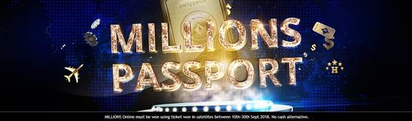 partypoker LIVE MILLIONS Events