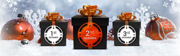 PartyPoker 2018 Christmas Promotions