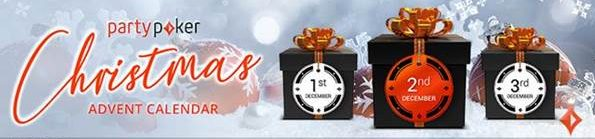 2018 PartyPoker Christmas Promotions